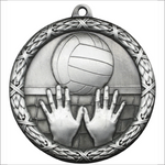 "Volleyball 2.5"" medallion - Classic Heavyweight series"