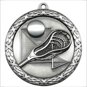 "Lacrosse 2.5"" medallion - Classic Heavyweight series"