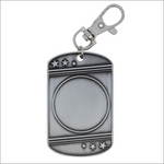 "Insert 1.25"" X 2"" medallion - Dog Tags series"