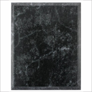 Black Granite plaque - Laser series