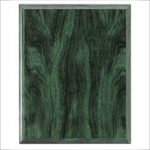 Green Wood plaque - Laser series