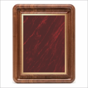 Gallery plaque - Classic Walnut series