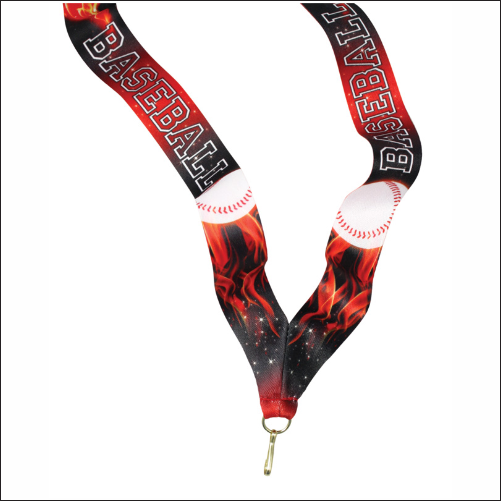 Inferno Baseball - Neck Strap