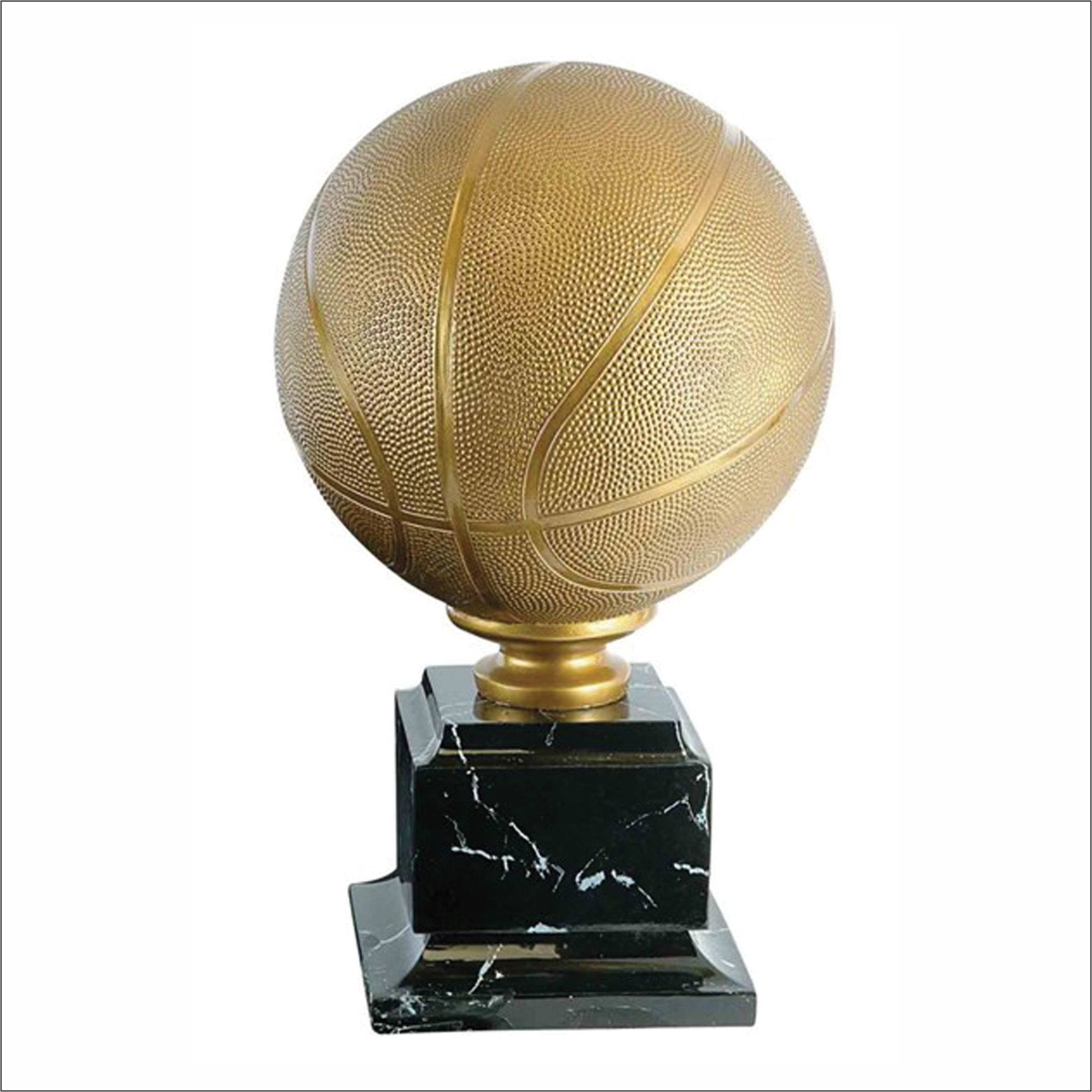 "Basketball 15.25"" trophy - Pro series"