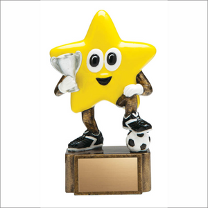 "Soccer 4.75"" trophy - Little Stars series"