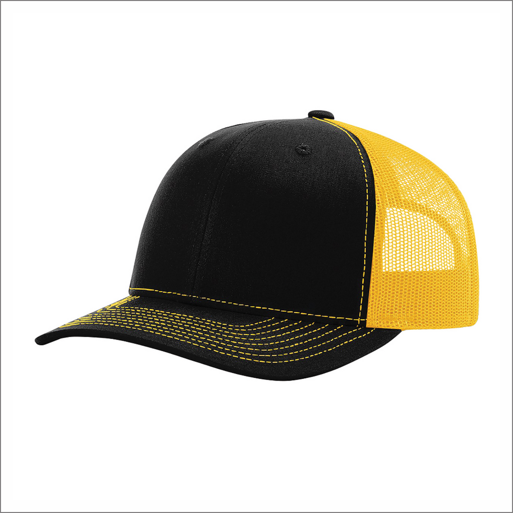 Snapback Hat - Meshback Trucker - Richardson RC112