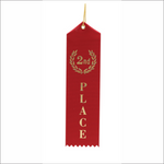 Second Place Ribbons - Pack of 25 - SR-1000 series