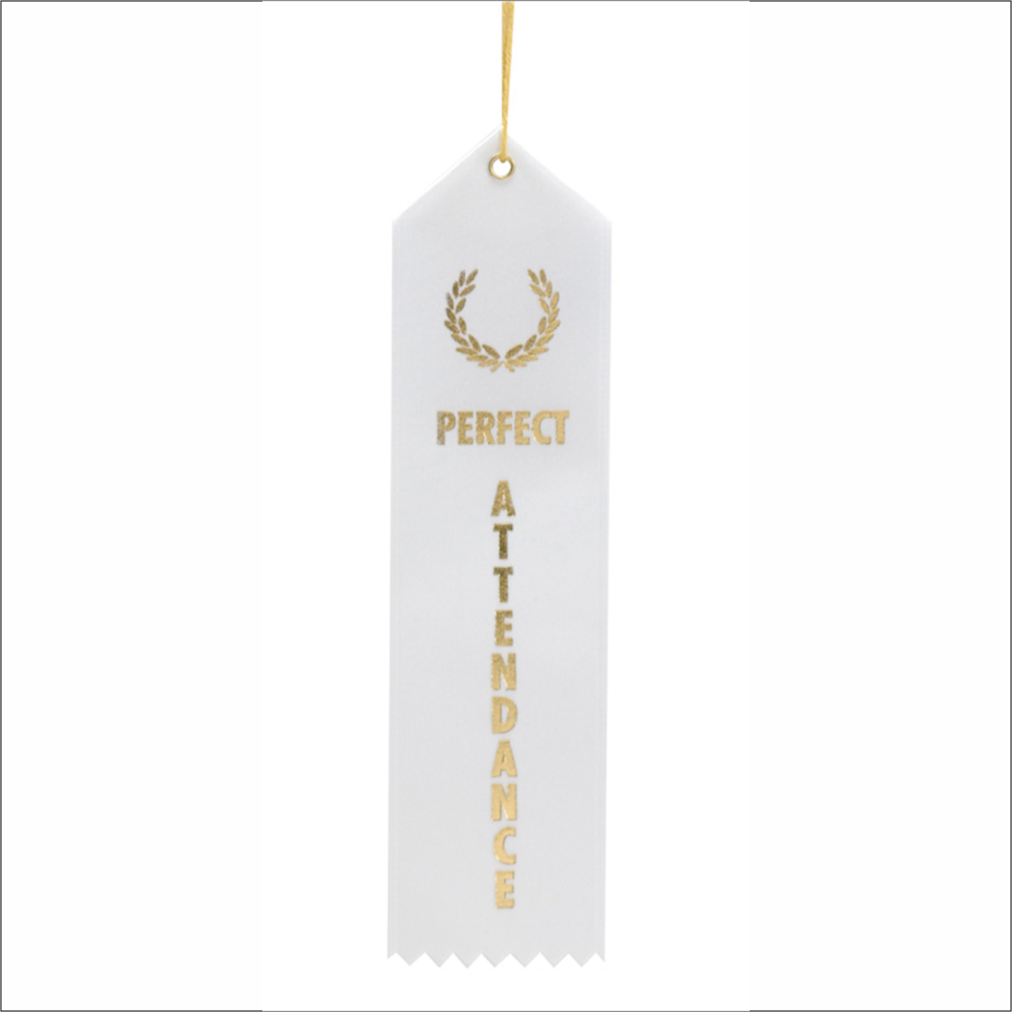 Perfect Attendance Ribbons - Pack of 25 - SR-1000 series
