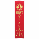 First Place Ribbons - Pack of 25 - SR-200 series