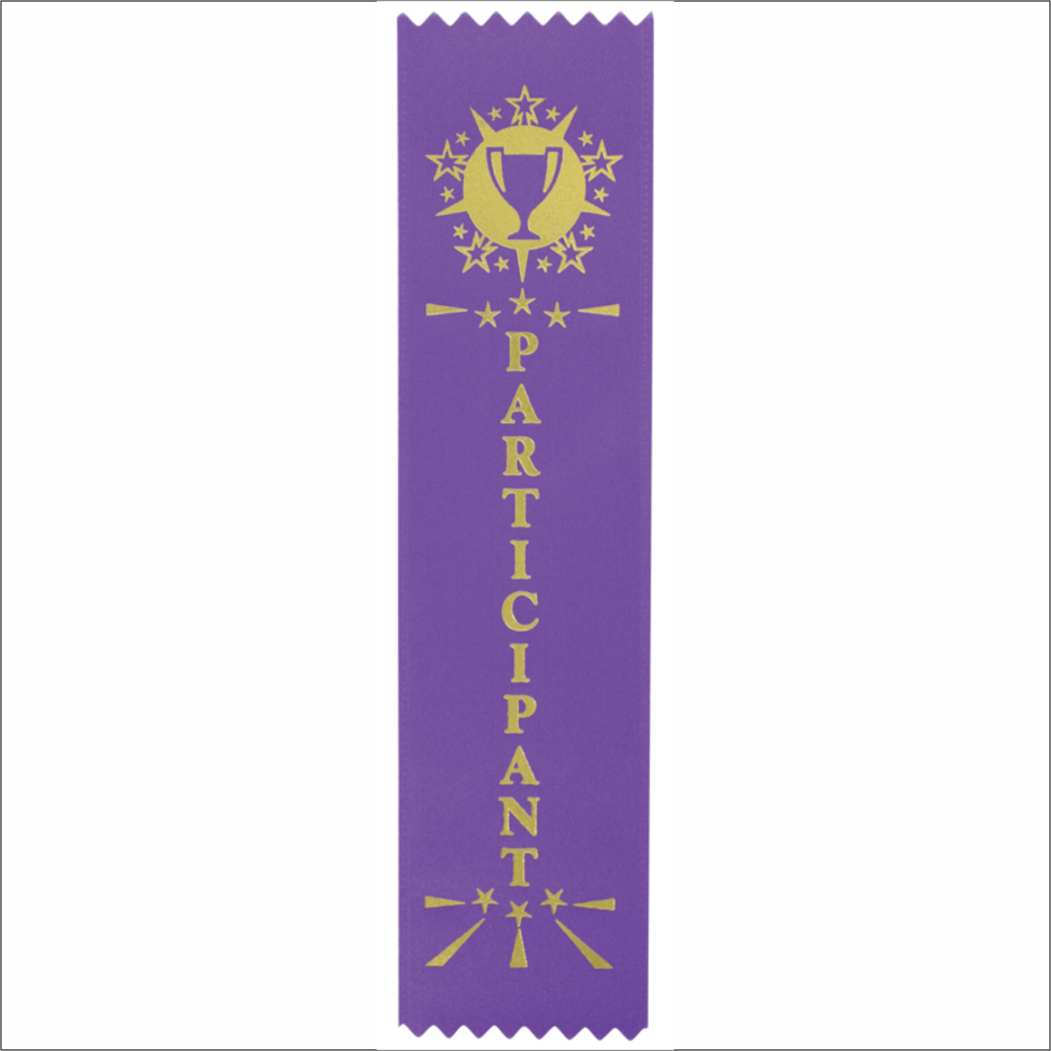 Participation Ribbons - Pack of 25 - SR-200 series