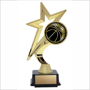 "Basketball 7.5"" trophy - Solar Star series"