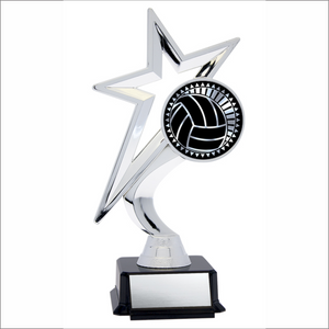 "Volleyball 7.5"" trophy - Solar Star series"