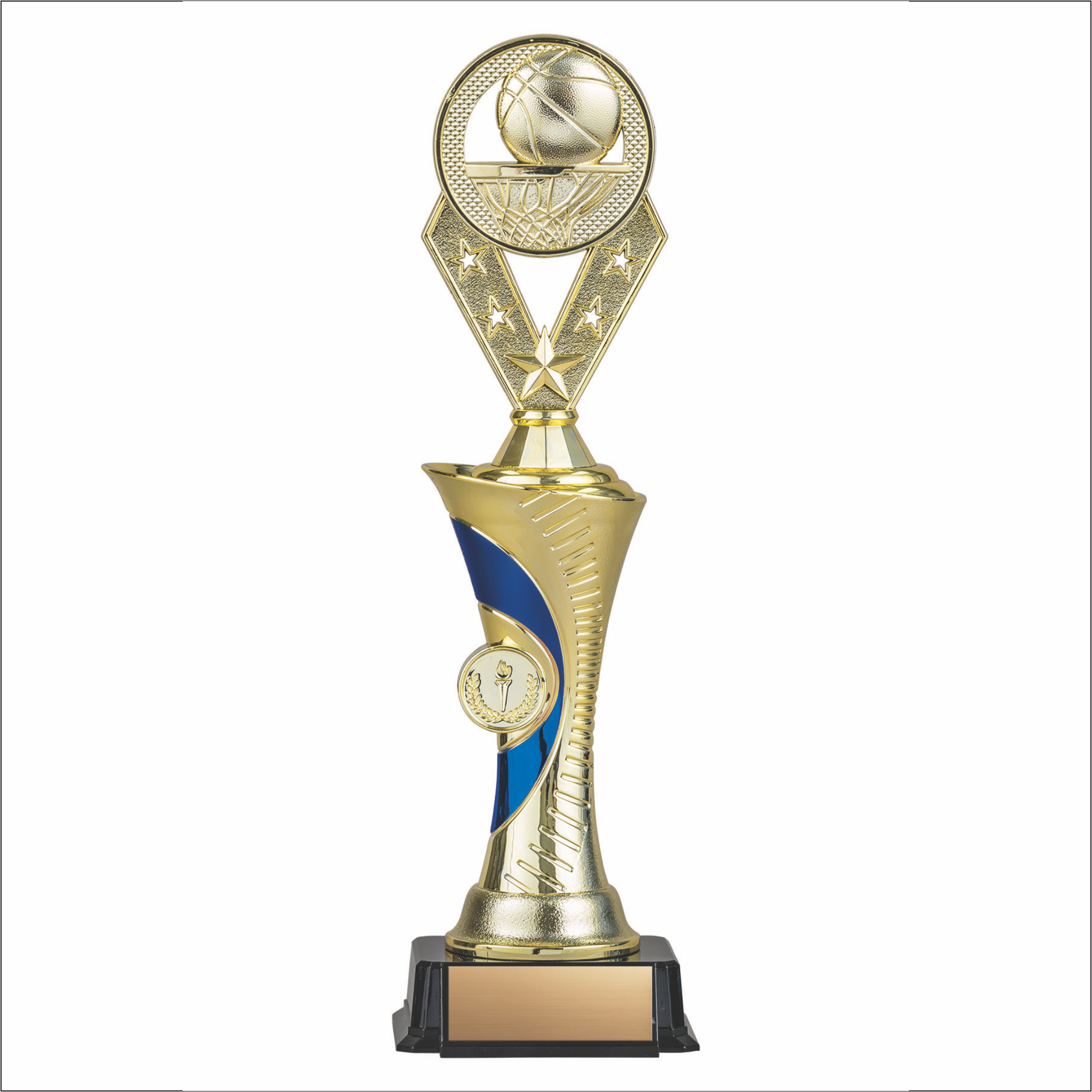 Basketball trophy - Alpha series - Galaxy style
