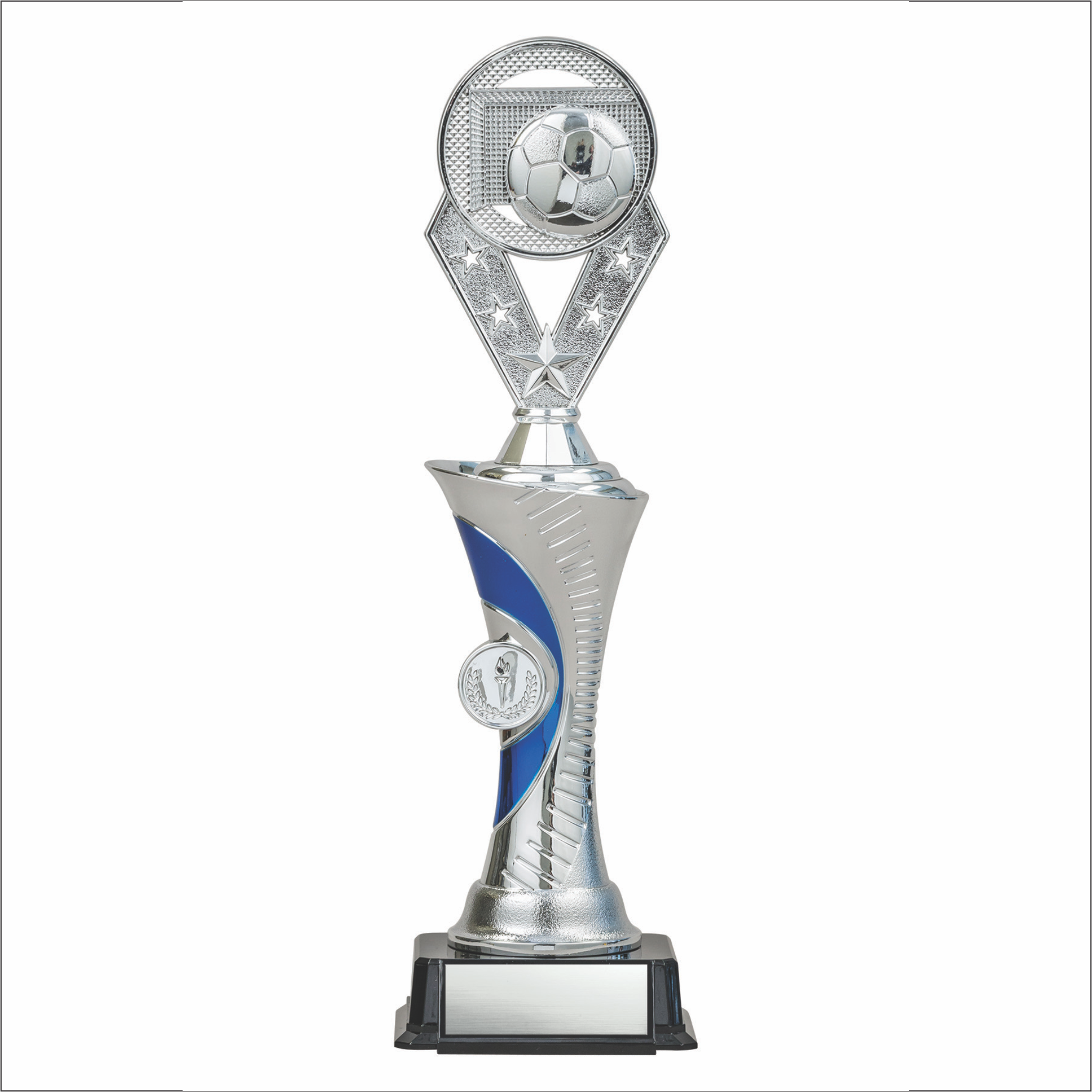 Soccer trophy - Alpha series - Galaxy style