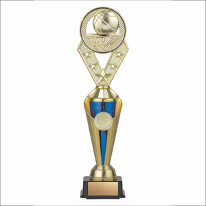 Basketball trophy - Alpha series - Trident style