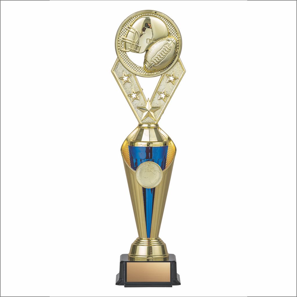 Football trophy - Alpha series - Trident style