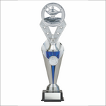 Academic trophy - Alpha series - Trident style