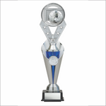 Soccer trophy - Alpha series - Trident style