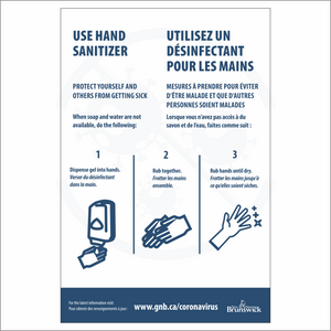 Use Hand Sanitizer Sign