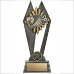 Soccer trophy - Peak series