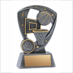 Basketball trophy - Pro Shield series