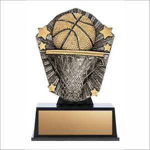 Basketball trophy - Cosmos series