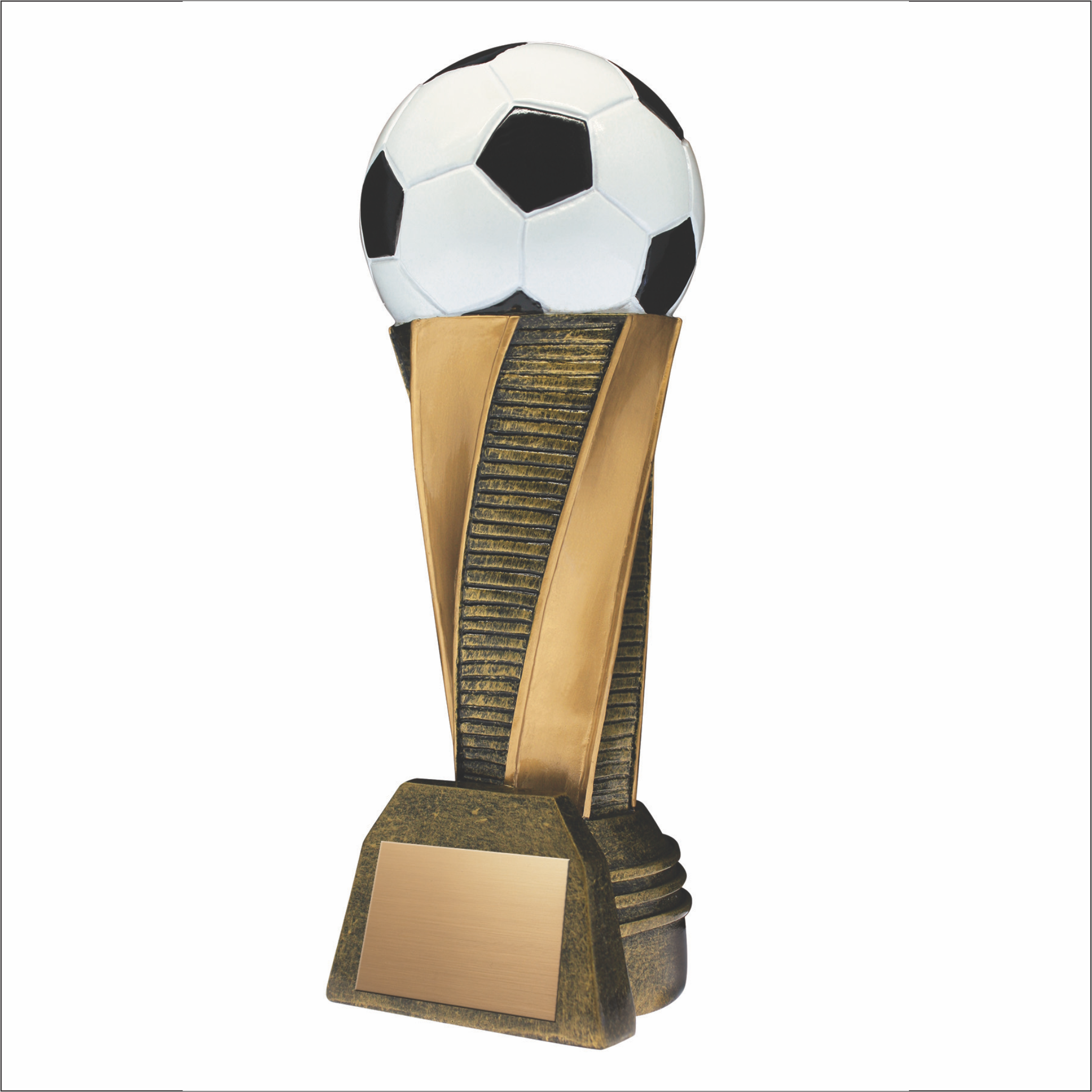 Soccer trophy - Classic Tower series