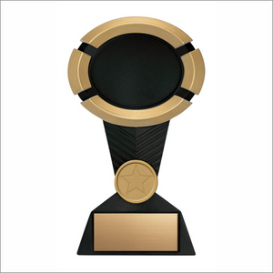 Oval Award - Resins - Impact Bk/Gold