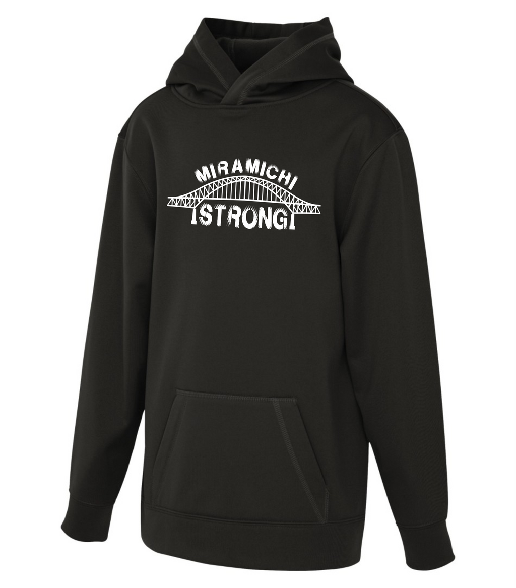 Miramichi Strong - Youth Polyester Hoodie - ATC Y2005