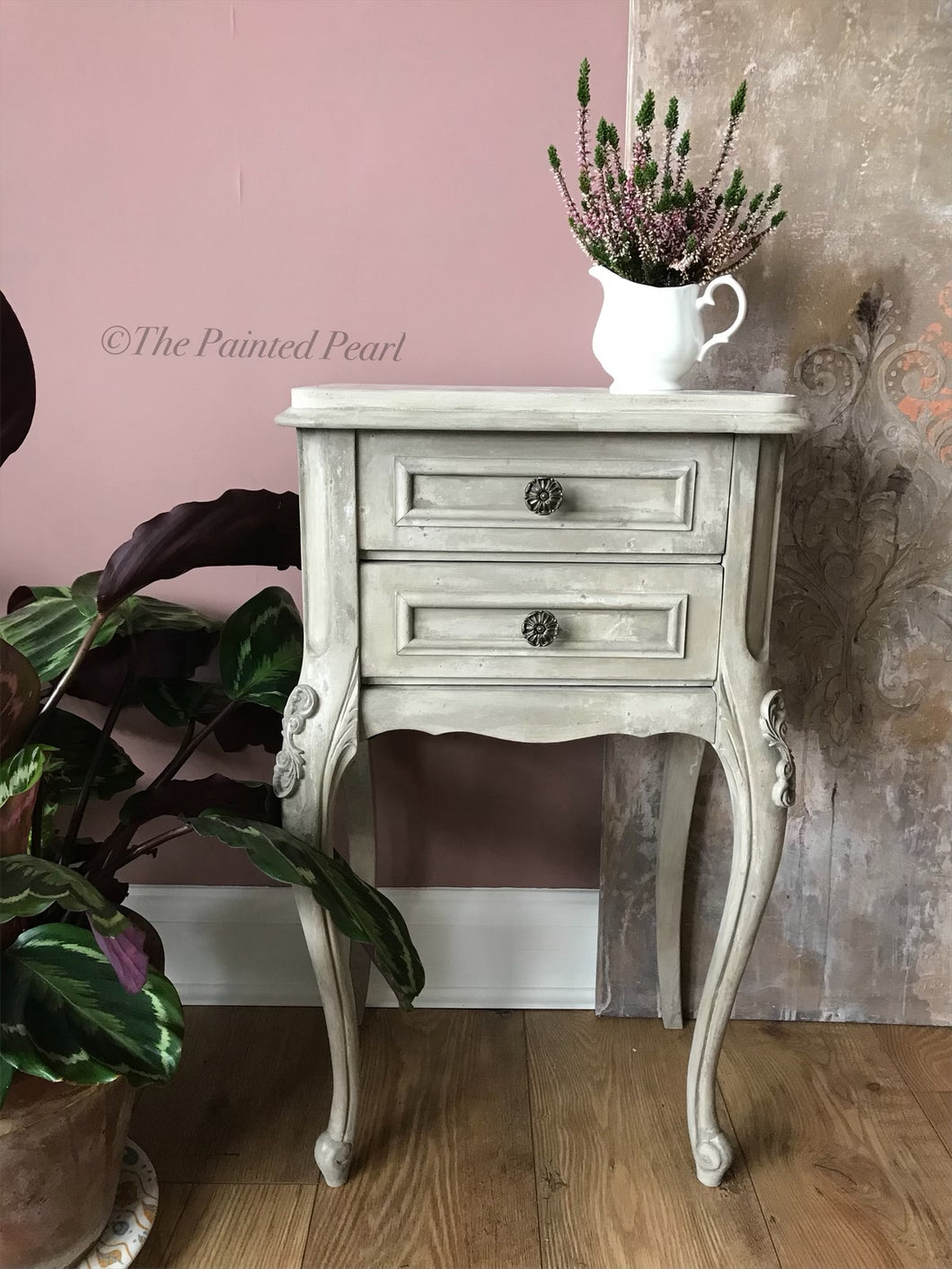Vintage French Nightstand