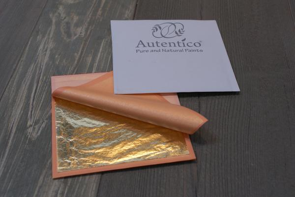 Autentico Gilding Metallic Leaf-Decorative Products-Autentico Paint Online