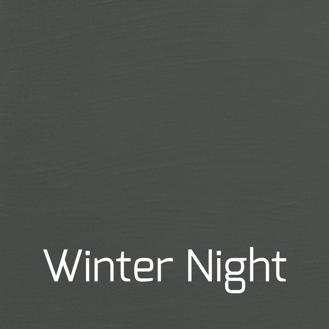 Winter Night - Vintage-Vintage-Autentico Paint Online