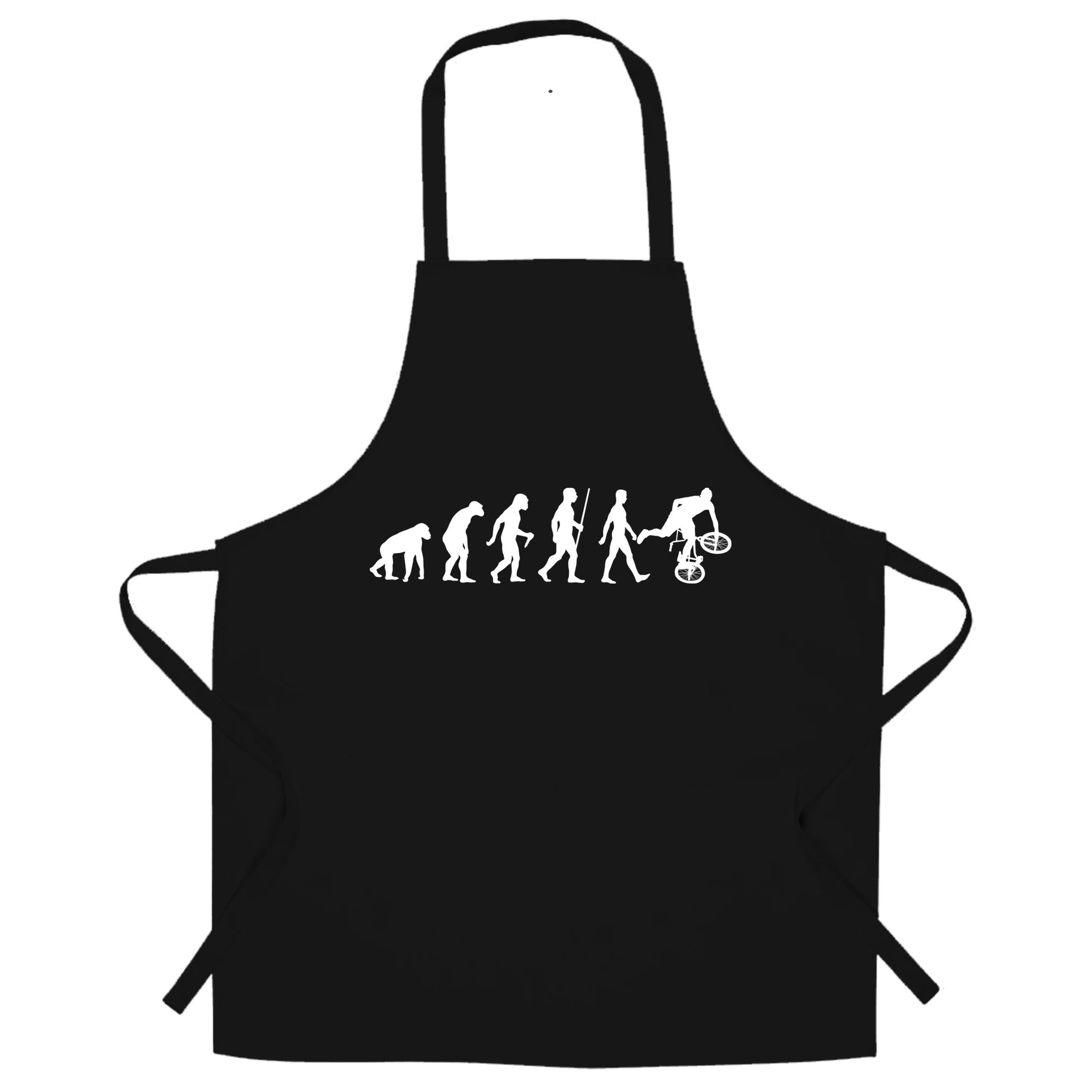 Exrtreme Sports Chef's Apron Evolution Of BMX Bike Dirt