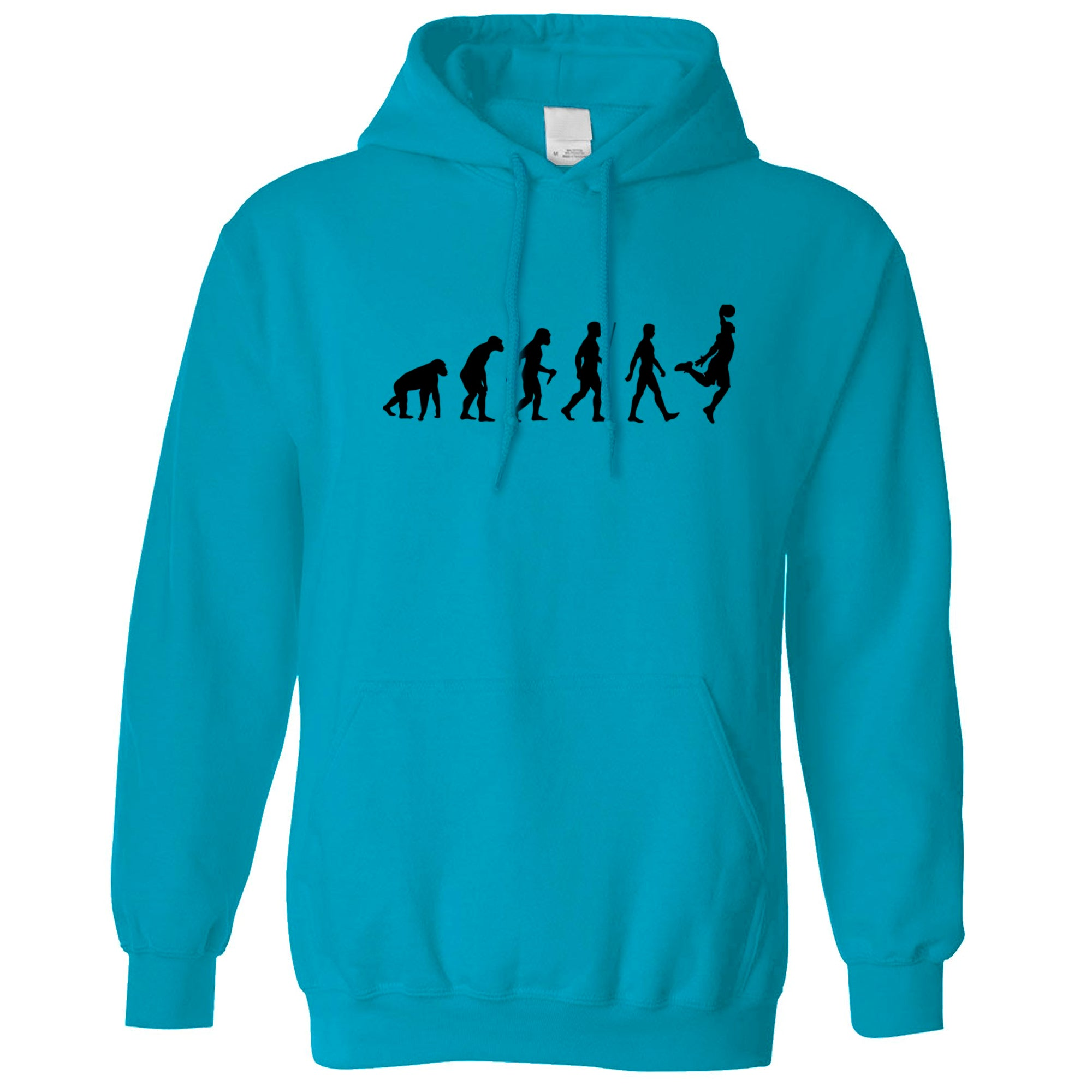 Sports Hoodie Evolution Of A Basketball Player Hooded Jumper