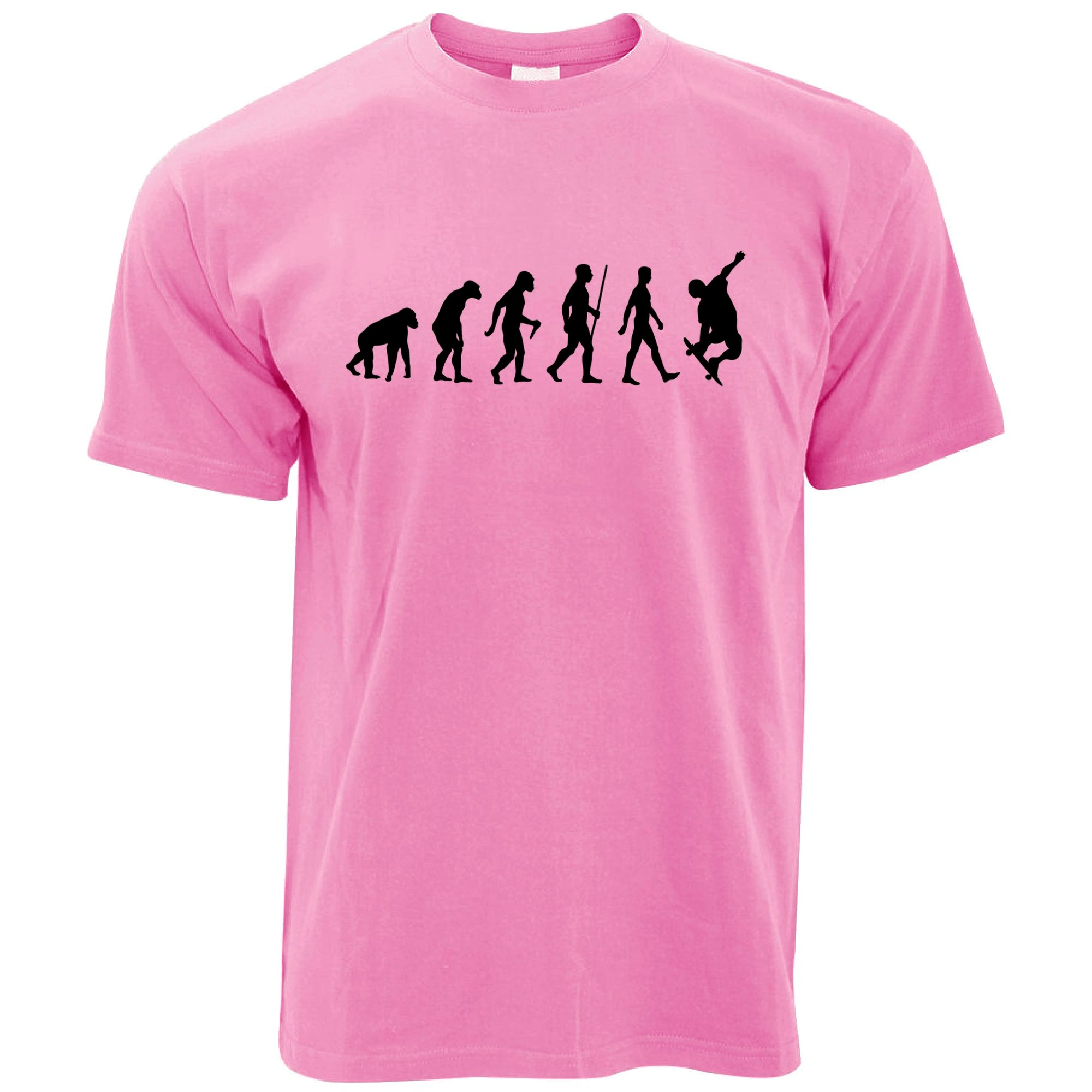 Sports T Shirt The Evolution Of A Skateboarder