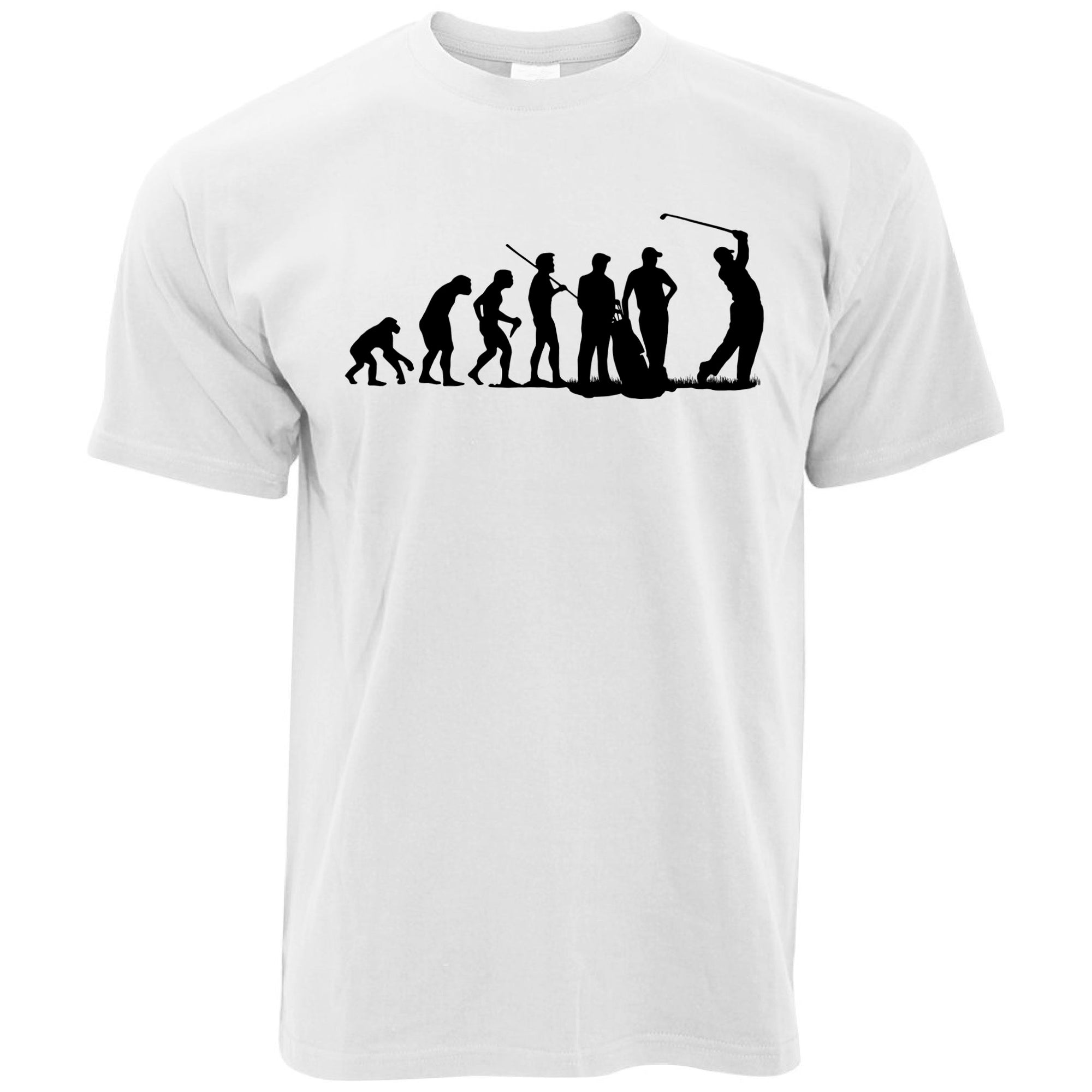 Sports T Shirt The Evolution Of A Golfer