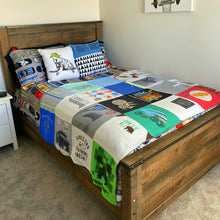 Load image into Gallery viewer, T-Shirt Quilt