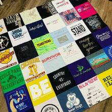 Load image into Gallery viewer, T-Shirt Quilt - 6x6' Large