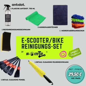 E-SCooTER/BIKE REINIGUNGS-SET by BE-SCooTER