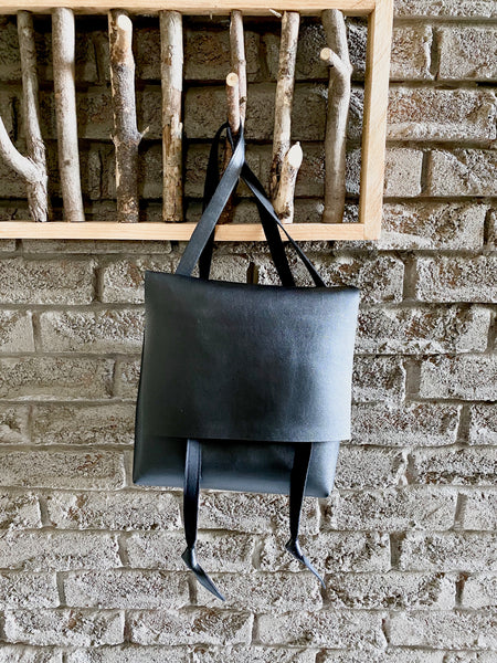 Cacti leather bag