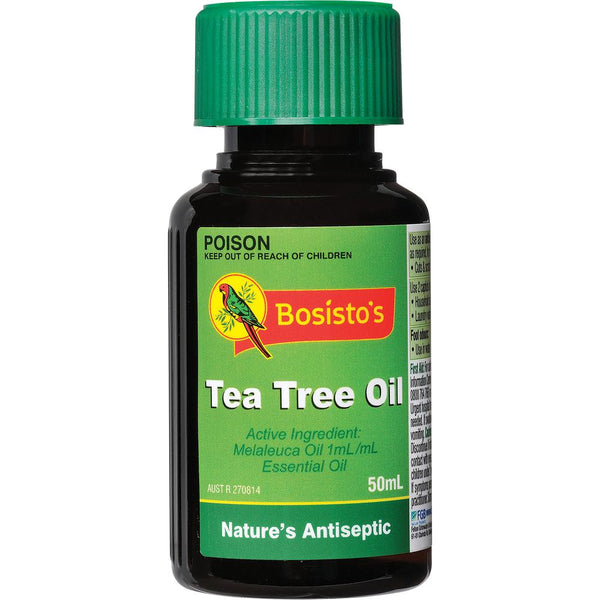 Bosisto's Tea Tree Oil 50ml Mybbbounce.com
