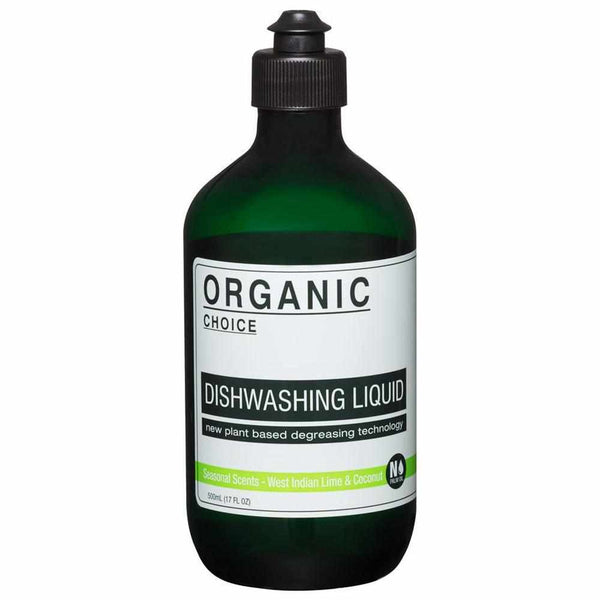 Organic Choice West Indian Lime & Coconut Dishwashing Liquid My BB Bounce