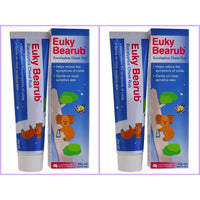 Euky Bear Natural Eucalyptus Chest Rub Twin Pack 2 x 50g
