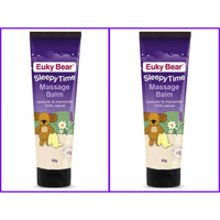 Euky Bear Sleepy Time Massage Balm Twin Pack 2 x 50g