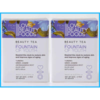 Fountain Of Youth Beauty Tea Twin Pack Youthful Skin Glowing Complexion