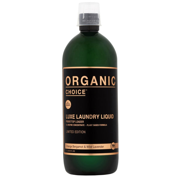 Organic Choice Orange Bergamot & Wild Lavender Laundry Liquid Limited Edition mybbbounce
