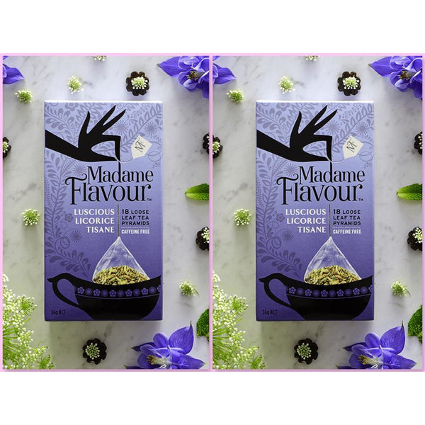 Madame Flavour Luscious Licorice Tisane Twin Pack My BB Bounce