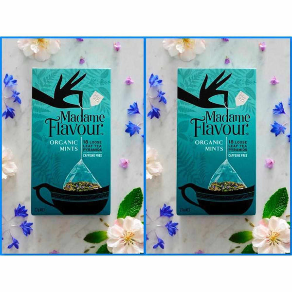 Madame Flavour Organic Mints Tisane Twin Pack My BB Bounce
