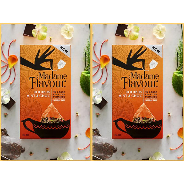 Madame Flavour Rooibos Mint Choc Tissane Twin Pack