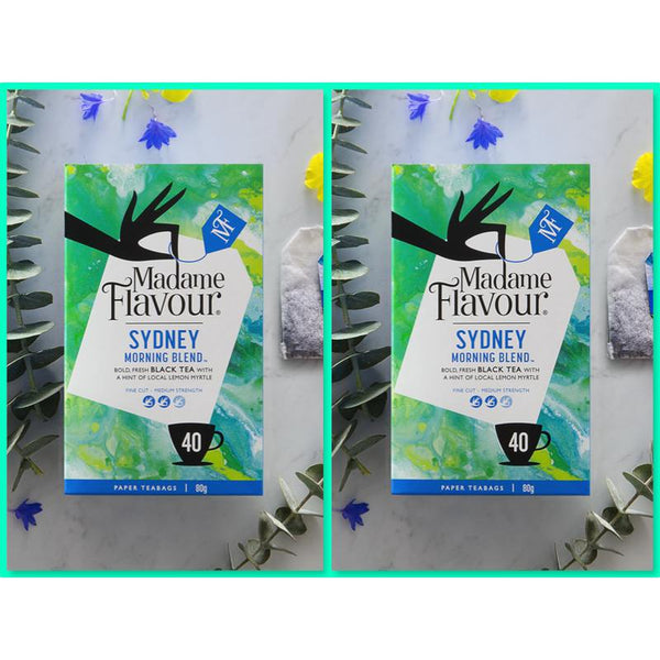 Madame Flavour Sydney Morning Blend Black Tea Twin Pack My BB Bounce